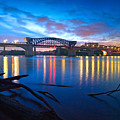 Dawn Along The River by Steven Llorca