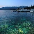 Dawn Arrives At Lake Tahoe  by Sean Sarsfield