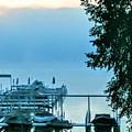 Dawn At Bay Colony by Jane Butera Borgardt
