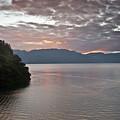 Dawn At Casa De Mundo Lake Atitlan 1 by Douglas Barnett