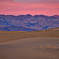 Dawn At Mesquite Flat #3 - Death Valley by Stuart Litoff