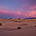 Dawn At Mesquite Flats #2 - Death Valley by Stuart Litoff