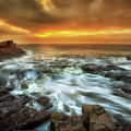 Dawn At Porthcawl by Leighton Collins