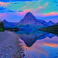 Dawn At Two Medicine Lake by Greg Norrell