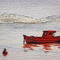 Dawn Fishing by Yvonne Ayoub