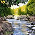 Dawn On The River by Lynn Hansen
