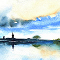 Dawn In Lindau On Lake Constance by Miki De Goodaboom