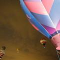 Dawn Launch Balloon Fiestas Albuquerque New Mexico  by Jeff Swan