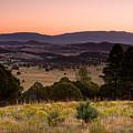 Dawn Near Ruidoso New Mexico by Matt Suess