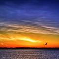 Dawn On Michigami by Thomas R Fletcher