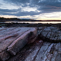 Dawn On The Shore In Southwest Harbor, Maine  #40140-40142 by John Bald