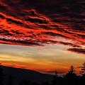 Dawn Over Big Spruce Knob by Thomas R Fletcher
