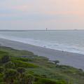 Dawn Over Cape Canaveral by Lynn Hansen