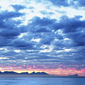 Dawn Over False Bay 2 by Neil Overy