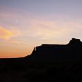 Dawn Over Monument Valley by Warren Still