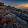Dawn Over Pemaquid Point by Rick Berk