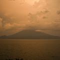 Dawn Over The Volcano 2 by Douglas Barnett