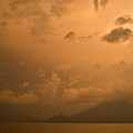 Dawn Over The Volcano 3 by Douglas Barnett