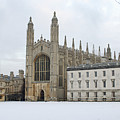 Dawn Sunshine Hit Kings College Chapel On Christmas Eve. by Richard Wareham