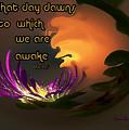 Dawns New Creation by Irma BACKELANT GALLERIES