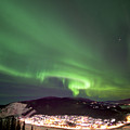Dawson City Lights by Craig Voth