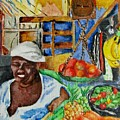Market Day by Nkese Miller