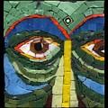 Day Dreamer - Fantasy Face No. 8 by Gila Rayberg