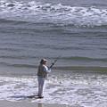 Day Of Ocean Fishing by Deborah Benoit