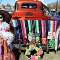 Day Of The Dead Truck Decorations  by Chuck Kuhn