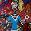 Day Of The Dead Waitress by Pristine Cartera Turkus