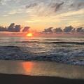 Daybreak At Cocoa Beach by Bradford Martin