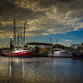 Daybreak On The Captain Jack by Marvin Spates
