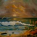 Daybreak On The Dunes by Dana DeCecco