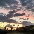 Daybreak Sky In Florida by Frank Kopet