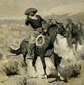 Days On The Range by Frederic Sackrider Remington