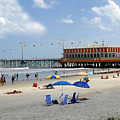Daytona Beach Pier by David Lee Thompson