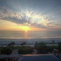 Daytona Beach Sunrise by Monica Wellman