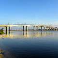 Daytona Beach's Broadway Bridge  by Chris Mercer