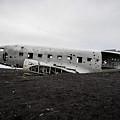 Dc-3 Wreck On The Solheimasandur by Alex Blondeau