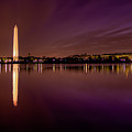 Dc Tidal Basin Pre-dawn by David Hahn