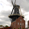 De Adriann Windmill - Haarlem The Netherlands by Just Eclectic