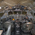 De Havilland Dh106 Comet 4 G Apdb Cockpit Full Size Poster by R Muirhead Art