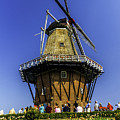De Zwaan Windmill In Holland by Nick Zelinsky