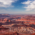 Dead Horse Point Vista by Lon Dittrick