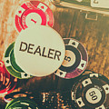 Dealers House Edge by Jorgo Photography - Wall Art Gallery