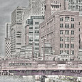 Dearborn Street Bridge by Jim Cole