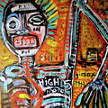 Death Of Basquiat by Robert Wolverton Jr