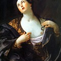 Death Of Cleopatra 1598 by Reni Guido