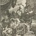 Death Of Dido, Gerard De Lairesse, 1668 by Gerard de Lairesse