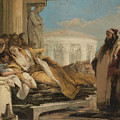 Death Of Dido by Giovanni Battista Tiepolo